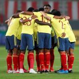 Momentos del partido entre Perú y Colombia por eliminatorias Catar 2022