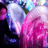Presentan museo interactivo de arte digital en Tokio
