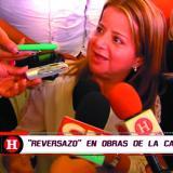 La alcaldea Elsa Noguera critica a contratista de la 51B