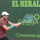 José Bendeck pierde en circuito Celsia de tenis