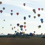 En video | Récord mundial de despegue de globos aerostáticos en línea