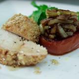 Recetas EH | Pechuga de pollo apanada con avena y nueces
