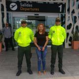 Llega a Barranquilla venezolana involucrada en asesinato de mujer en Malambo