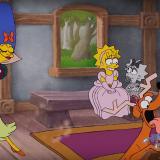 Así se ven los Simpsons en versión Disney