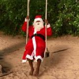 En video | El baile de Patrice Evra disfrazado de Papá Noel que se volvió viral
