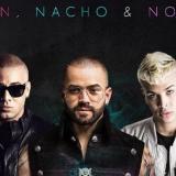 Así suena 'No te vas' de Nacho junto a Wisin y Noriel