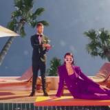 Tropical y psicodélico, así es el video de 'One Kiss' de Calvin Harris y Dua Lipa