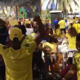 Mina, Falcao y Cuadrado ponen a bailar a los riohacheros