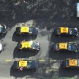 Uber y Cabify generan protestas entre taxistas chilenos