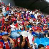 Estadio samario, a ritmo de Pitan pitan previo a juego Unión-Quindío