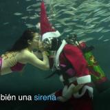 ¿Qué hace Papá Noel en un acuario de Seúl?