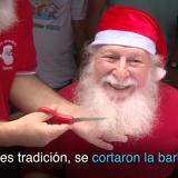 La insólita despedida de la Navidad de estos Santas