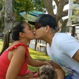 Así celebraron los barranquilleros el Día Internacional del Beso