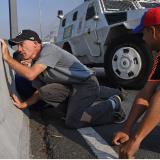 En video   El tensionante momento que vivieron manifestantes tras disparos de Guardia venezolana