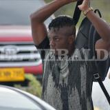 En video  Edwuin Cetré llegó a la sede deportiva de Junior