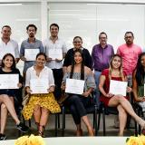 Se gradúan 11 estudiantes del XIII módulo de la Escuela Olga Emiliani