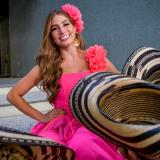 Ella es Isabella Chams, Reina del Carnaval de Barranquilla 2020
