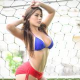 Chica Miércoles | Nicoll Gómez, cuando la pasión por Junior se manifiesta en una porrista