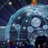 En video | Con su alumbrado y decoración, en Barranquilla se respira aroma a Navidad