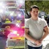 Policía da a conocer videos sobre múltiple choque en la Circunvalar y su responsable