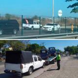 En contravía, conductor de Dacia es perseguido por la Policía