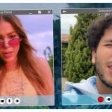 Danna Paola presenta el video de 'Contigo' acompañada de grandes estrellas