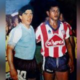 En video | El día que Maradona jugó contra Junior