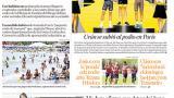 Afluencia masiva  a las playas de Puerto a pesar de prohibición