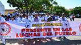 Médicos del Cesar salieron a las calles a protestar por las propuestas del Gobierno Nacional