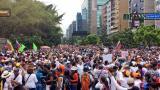 Marchas de hoy en Venezuela.