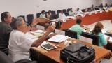 La sesión extraordinaria fue presidida por Luis Zapata Donado, presidente del Concejo de Barranquilla.
