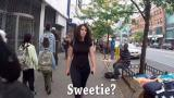 """""""Caminando 10 horas en Nueva York siendo mujer"""", el video viral sobre acoso callejero"""