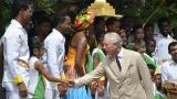 El príncipe Carlos se inclinó ante el cariño de los cartageneros