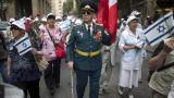 Veteranos de la II Guerra Mundial conmemoran en Jerusalén la victoria aliada