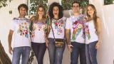 Los diseños coloridos y alegres de la barranquillera pueden ser lucidos por hombres y mujeres.