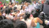 Protesta por relevo de rectora en Las Misericordias deja 30 niñas lesionadas