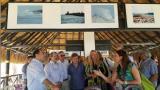 Gobernador analiza erosión costera con ministra de Infraestructura de Holanda