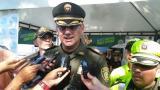 Comandante de la Policía en Sucre, coronel Julio César Sánchez Molina.