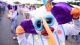 Homenaje a César 'Paragüita' Morales en el desfile de la Conquista del Sur