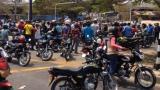 Transmetro suspendió servicio por protesta de motociclistas en la Murillo con avenida Las Torres