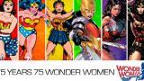 Con video DC Comics conmemora los 75 años de la 'Mujer Maravilla'