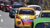 Los carros clásicos tuvieron su desfile en Barranquilla