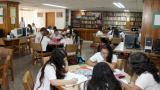 Alumnas del Colegio Buen Consejo, de Barranquilla.