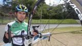 John Rodríguez, ciclista colombiano.