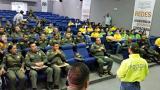 Capacitación preventiva realizada el viernes en el comando de la Mebar.