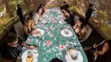 Realidad virtual y comida, los componentes de uno de los restaurantes más caro del mundo