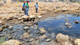 Habitantes de Media Luna, en La Guajira,han denunciado la contaminación de cuerpos de agua por la presencia del mineral.