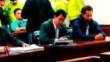 Rafael Uribe en una imagen de archivo del juicio.