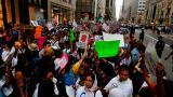 Nuevas protestas contra Trump tras declaraciones sobre Charlottesville