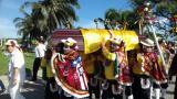 Con música y Carnaval, el Cipote Garabato despidió a Humberto Pernett
